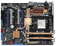 Free shipping 100% original Desktop motherboard for Asus M3A32-MVP Deluxe/WiFi-AP DDR2 AM2+/AM2 mainboard