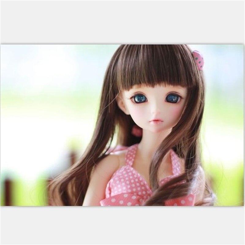 OUENEIFS Rin Minifee bajkowy bjd sd 1/4 modelu ciała dla dzieci dziewczyny chłopcy lalki oczy wysokiej jakości zabawki sklep żywicy w Lalki od Zabawki i hobby na  Grupa 1