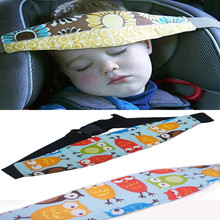 Car Safety Seat Sleep Positioner Infants And Colorful Baby Head Support Pram Stroller Fastening Belt Adjustable  free shipping