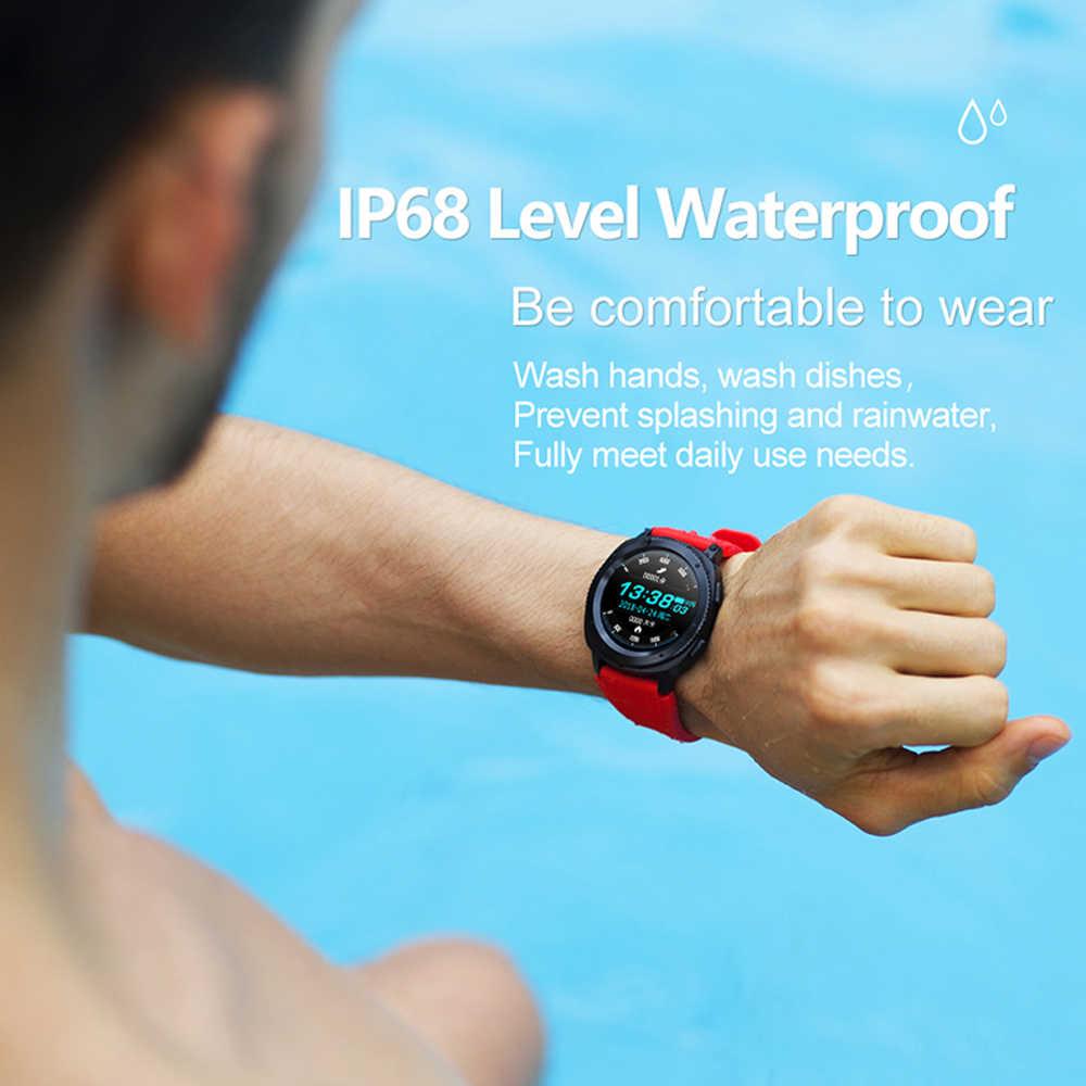 Reloj inteligente L2 a prueba de agua IP68, Monitor de pulso cardíaco, reloj inteligente Bluetooth, responder llamadas, seguimiento de Fitness, reloj para Xiaomi, teléfono inteligente