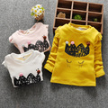 2016 Autumn and Winter Casual Gilrs Boys Baby Children Infant,Princess Bottoming Shirt Baby Long-sleeved Shirt Baby Clothes