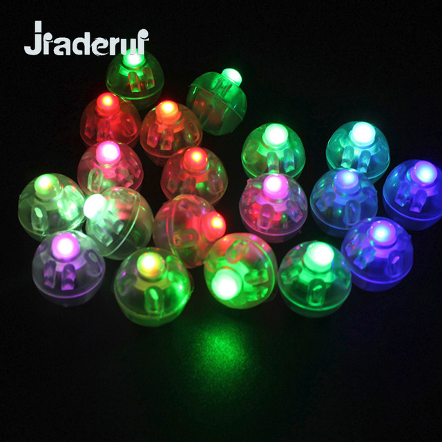 jiaderui led 100pcs lots round ball holiday lights yellow white paper lantern wedding xmas halloween