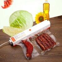 Household Automatic Food Vacuum Sealer Packaging Machine Film Sealer Vacuum Packer