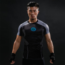 US $2.67 42% OFF|3D Short Sleeve T Shirt Men T Shirt Male Crossfit Tee Captain America Superman tshirt Men Fitness Compression Shirt BJJ MMA tops-in T-Shirts from Men's Clothing on Aliexpress.com | Alibaba Group
