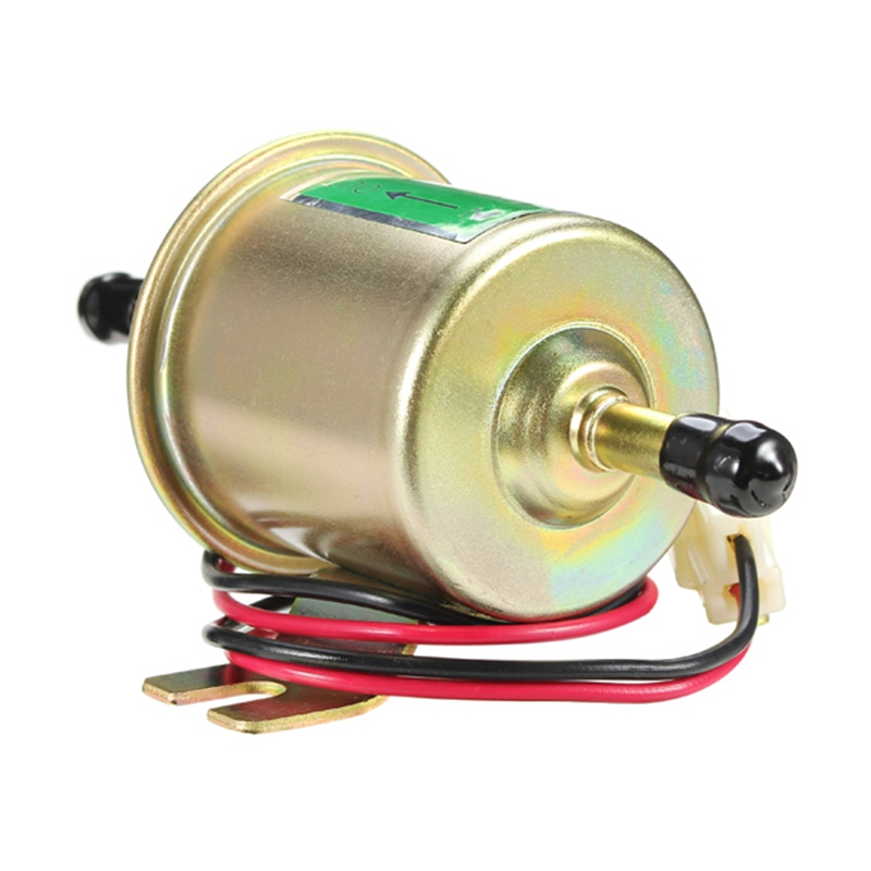 POWERCO Electric Universal Gas 2225 High Pressure 231733104755 In Line Fuel Pump Module W//Retaining Strap Replacement 43 gph, 40 psi, 3//8 in. Hose Barb Inlet, 5//16 in, Hose Barb Outlet