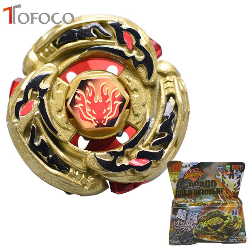 TOFOCO Golden Dragon Toupie Beyblade Burst For Sale Metal Fusion 4D Launcher font b Spinning b