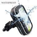 Impermeables y resistentes al agua para bicicletas/bicicletas/moto Estuche y Soporte para 4.3 ''Garmin Nuvi Tomtom GPS Navigator, ENVÍO GRATIS
