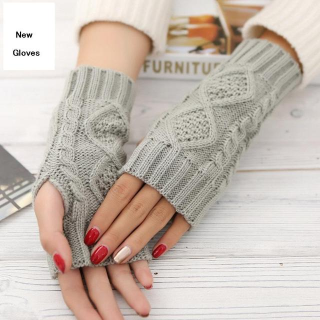 Vrouwen Handschoenen Stijlvolle Handwarmer Winter Handschoenen