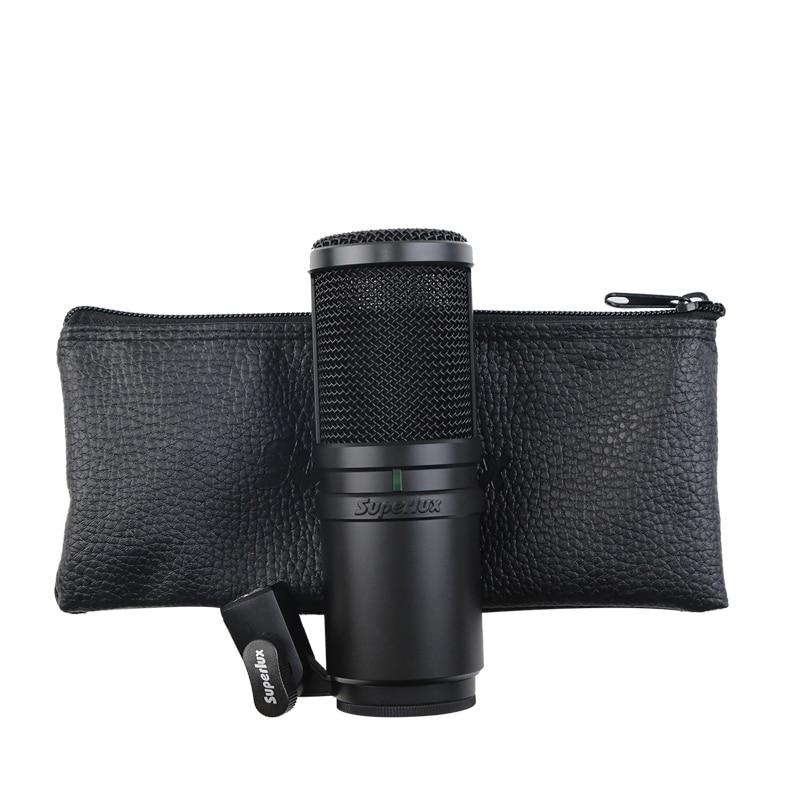 Superlux E205 Super cardioid condenser recording microphone recommend for studio use