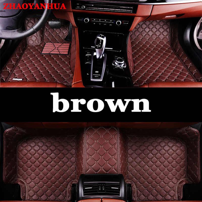 Zhaoyanhua Lantai Mobil Tikar untuk Lexus J100 LX470 LX 470 J200 LX570 ES250 ES300H ES350 CT200H Ialah ES350 NX NX300H RX Liners Karpet