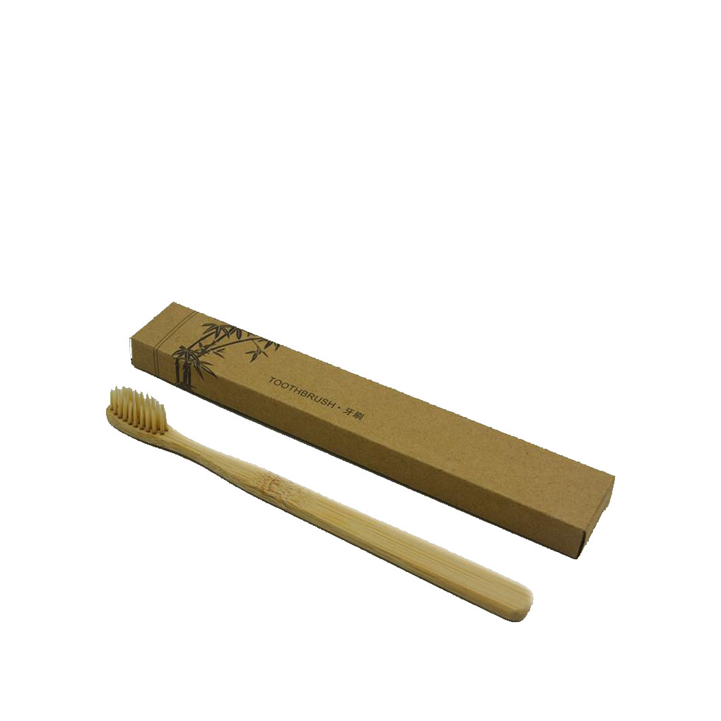 New Environmentally Friendly Adult Wooden Bamboo Toothbrush Fibre Wooden Handle