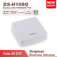 Hikvision Cctv Dvr DS H108Q 8 Turbo HD AHD Analong Interface Ipu Mini 1U Case