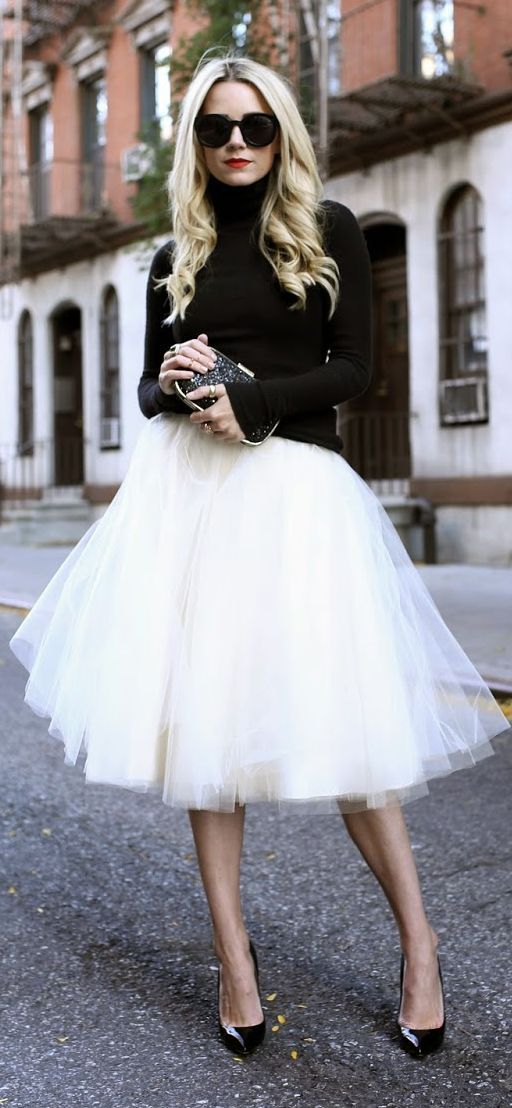 5 Layers Fluffy Tulle Tutu Skirts Maxi White Womens 2017 New Fashion Ball Gown In From Clothing Accessories On