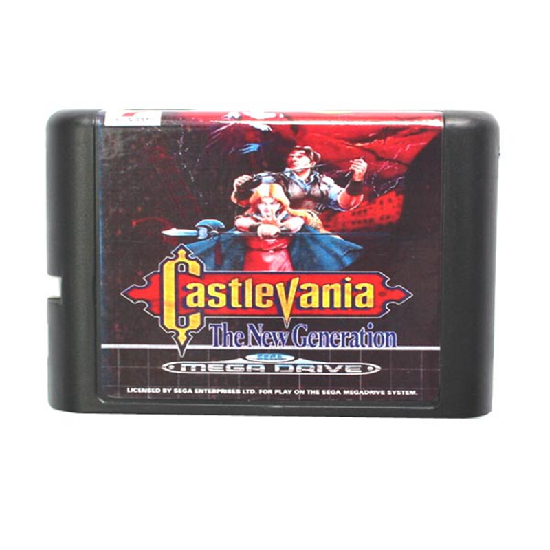 Castlevania the new generation 16 bit MD Game Card For Sega Mega Drive For Genesis image
