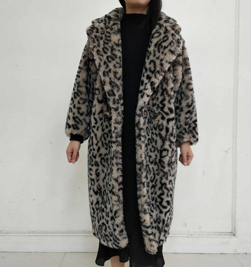 tout neuf 28046 03664 Detail Feedback Questions about Leopard Wool Fur Kaban ...