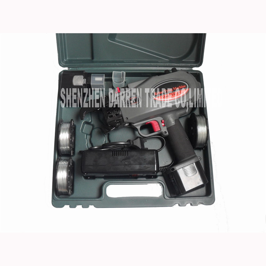 8 40 MM Cordless round binder battery for concrete TR 395 rebar ...