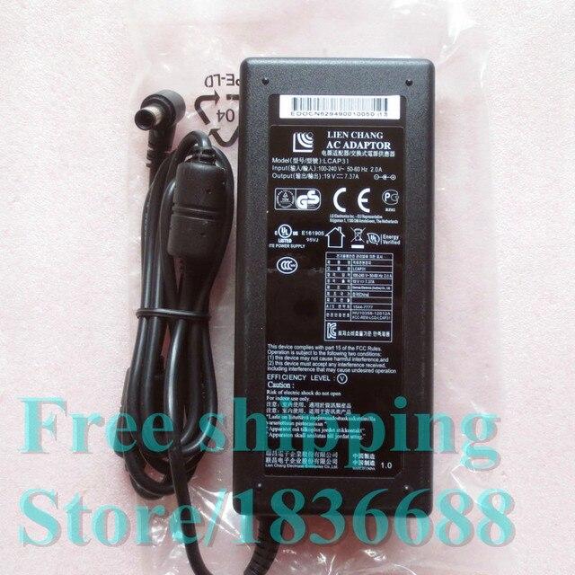 19 В 7.37A Питания Оригинальный Новый для LCAP31 LITEN ЧАНГ AC АДАПТЕР для LG um 3495-p 34um95-p монитор