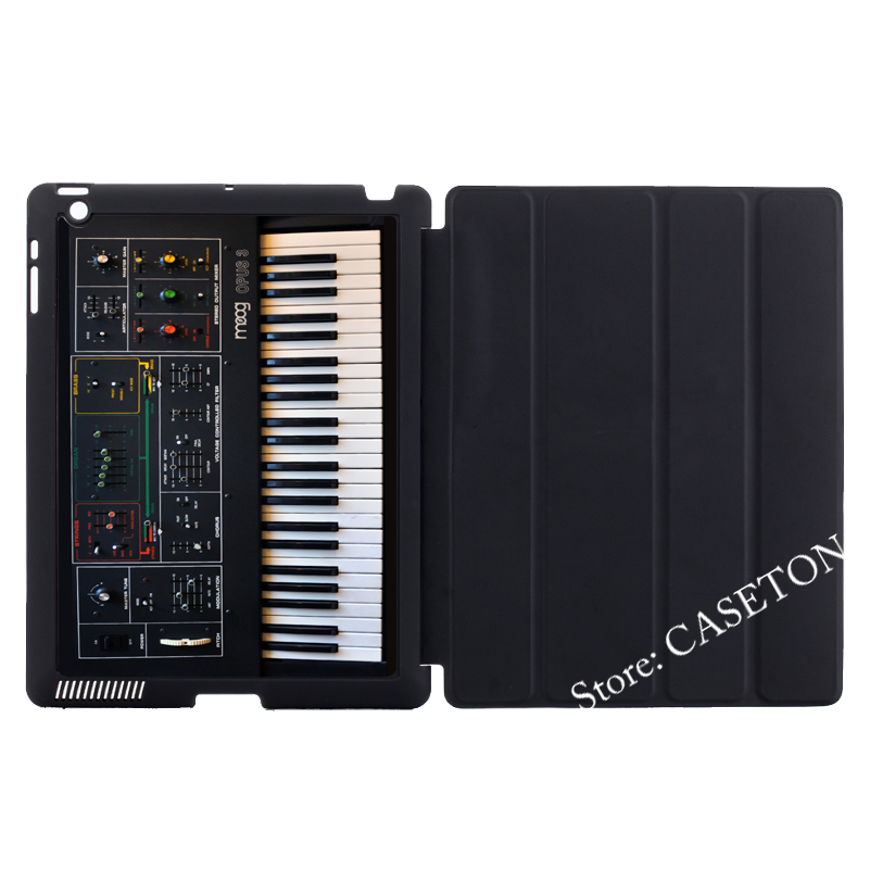 Electronic Piano Plug Funny Cover Case For Apple iPad Mini 1 2 3 4 Air Pro 9.7 10.5 12.9 2016 New 2017 a1822