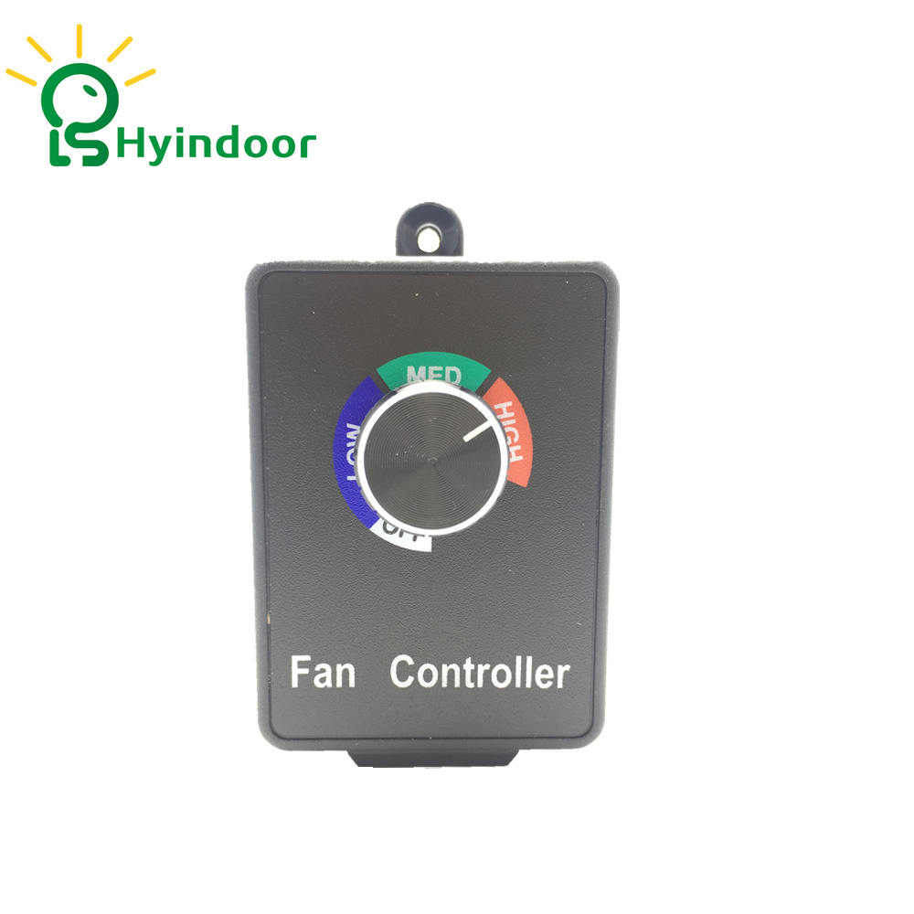 Fan speed control dial