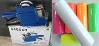 MX 6600 10 Digits 2 Lines Price Tag Gun Labeler 1 Ink 14 Rolls White 500