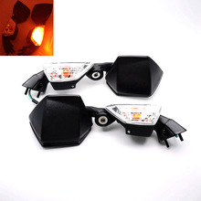 For Kawasaki Ninja ZX-6R ZX6R 2005-2008 ZX-10R ZX10R 2004-2010 Motorcycle ABS LED Turn Signal Integrated Side Rearview Mirrors hot sales cowl kits for kawasaki ninja 2008 2009 2010 zx 10r new orange zx10r z x 10r spare free customized abs moto fairings
