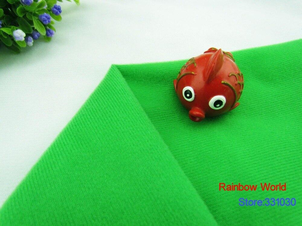 9602 # Zelená barva Loop Fleece tkanina může držet kouzelnou páskou / kutilství šití Vycpané hračky pohovka materiál velboa samet (5 metrů / lot)