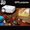 GP9S Домашний Кинотеатр Кино 1080 P HD HDMI USB Видео Цифровое ТЕЛЕВИДЕНИЕ изготовителя портативный LCD LED Мини-Проектор Proyector Бимер Projetor