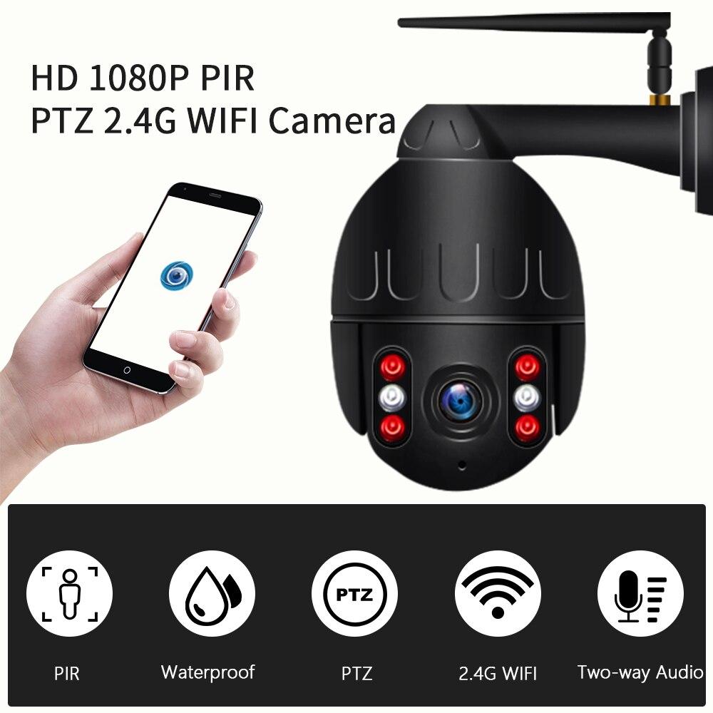 INQMEGA 1080P IP Kamera Wireless Security Dome WIFI PTZ Mini Speed Cam Outdoor Onvif Überwachung Wifi Kamera Audio Record CCTV