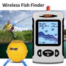 LUCKY FFW718LA Fish Finder Wireless Sonar Portable Professional Sounder 45M/135FT Sonar Depth Sounder Alarm Pesca