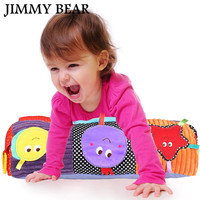 JIMMY 1 Pcs Baby Multifunctional Roller Pillow Infant Blanket Crawl Climb Learning Toys Lovely Cartoon Pattern