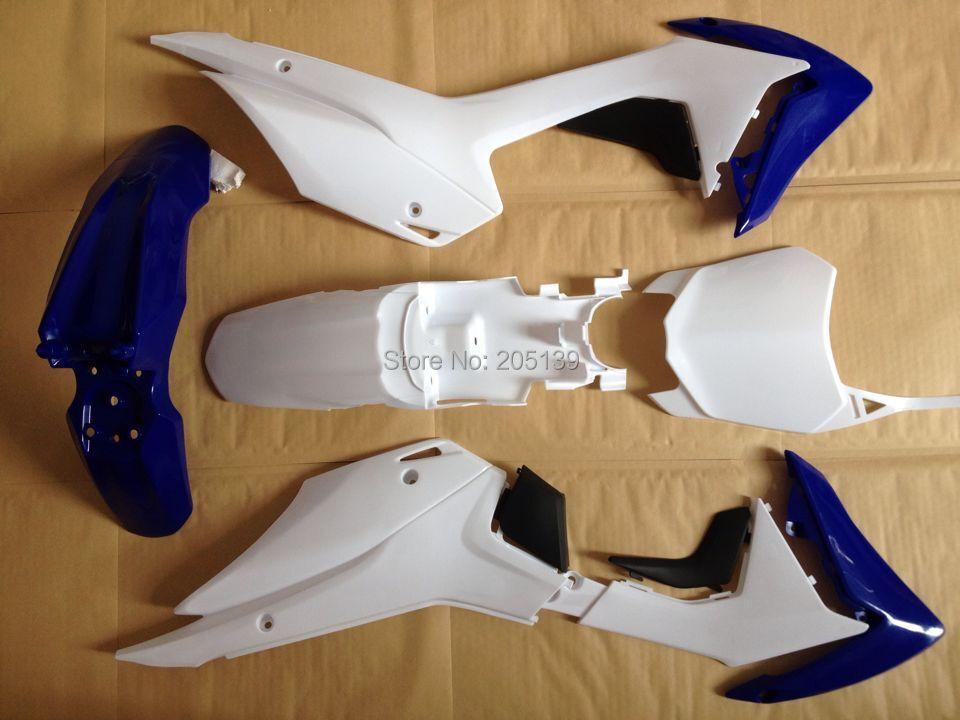 CRF110 2014 синий/белый/черный обтекатель Пластиковые части бамперов для Honda мото мотоцикл дерд питбайк КРФ 110