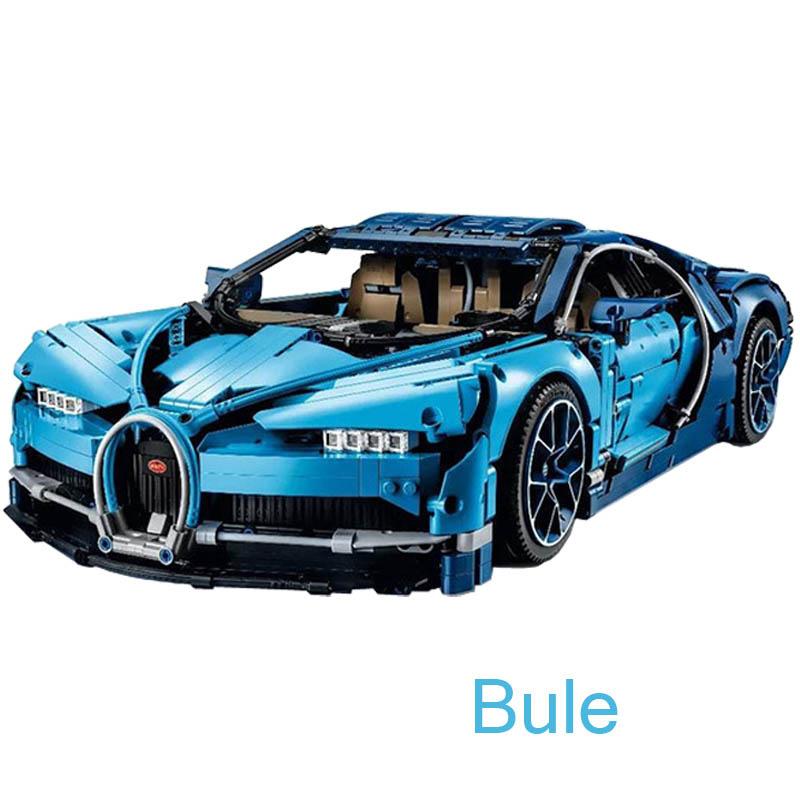 Technic Figures Bugatti Chiron Racing Car Sets Compatible Legoing