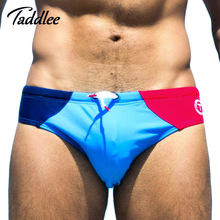 Taddlee Brand New Men Swimwear Swimsuits Swimming Boxer Trunks Sexy Mens Swim Bikini Briefs Gay Surf Board Shorts Europe Size