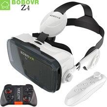 Realidad virtual 3d vidrios originales bobovr z4 google cartón bobo z4 vr VR Caja 2.0 con Auriculares para 4.3-6.0 pulgadas smartphones