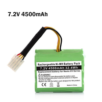 7.2v 4500mAh Alternative Battery Pack for Neato Robot Vacuum Cleaner Parts for Neato Xv Battery Signature Pro Cleaning Tool Part
