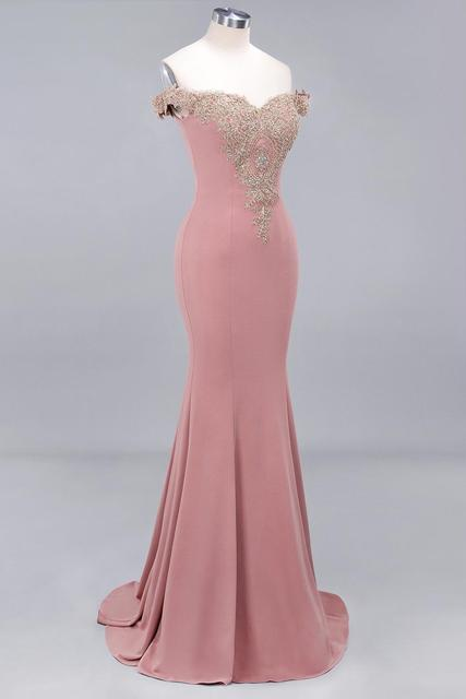 New Arrival Burgundy Lace Mermaid Prom Dresses Long Sexy Open Back Cap Sleeve Evening Party Dresses Vestido de Festa 5