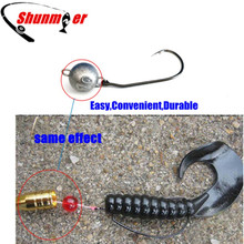 SHUNMIER 2g 5g 7g 10g 12g 14g 21g Lead Sinker Fishing accesories Pesca Bullet Tools Soft Lure BaitsTexas Group With Crank Hook