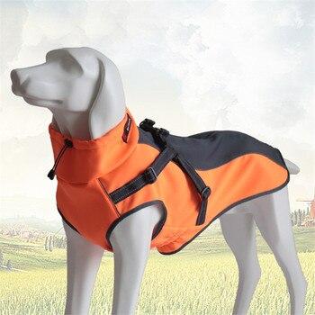 2017 nueva mascota perro ropa espesante impermeable reflectante invierno mascotas ropa mascota suave chaqueta