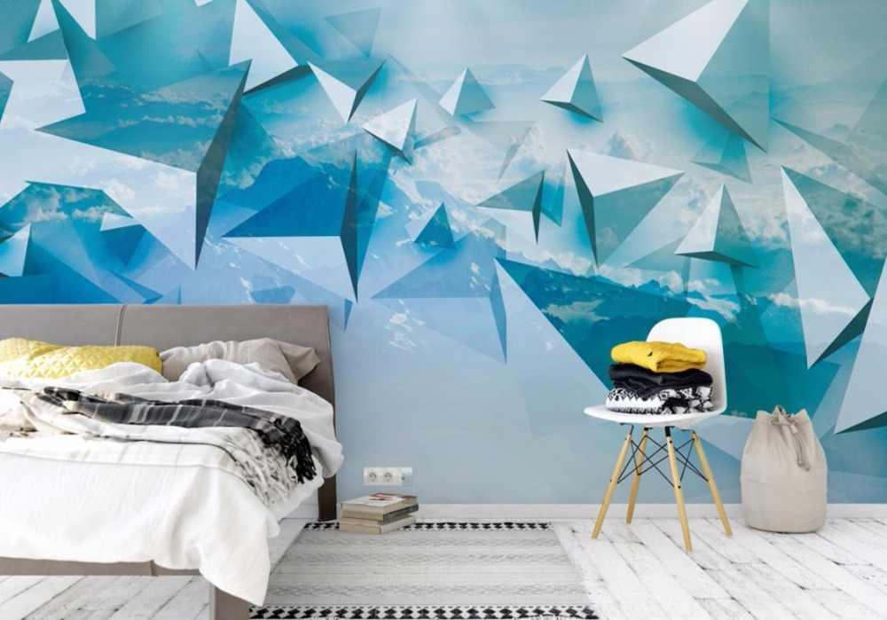Ciel 3D stéréoscopique papier peint photo papier peint 3D salon chambre fond maison amélioration Photo papier peint pour les enfants