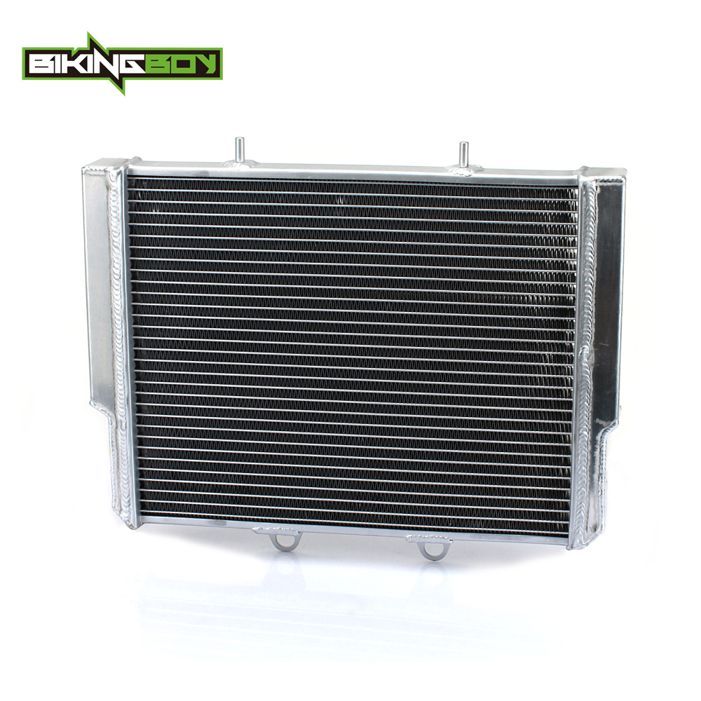 BIKINGBOY Aluminium Core ATV Quad Dirt Bike Engine Radiator Cooler Cooling for Polaris Ranger RZR800 RZR 800 07 08 09 10 11 2012