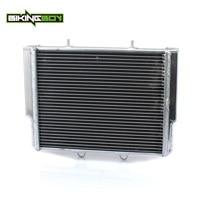 BIKINGBOY Aluminium Core ATV Quad Dirt Bike Engine Radiator Cooler Cooling for Polaris Ranger RZR800 RZR 800 07 08 09 10 11 2012