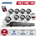ANNKE HD 1080P 8CH H.264+ NVR PoE IP Network 4MP WDR Camera Security System 1TB HDD