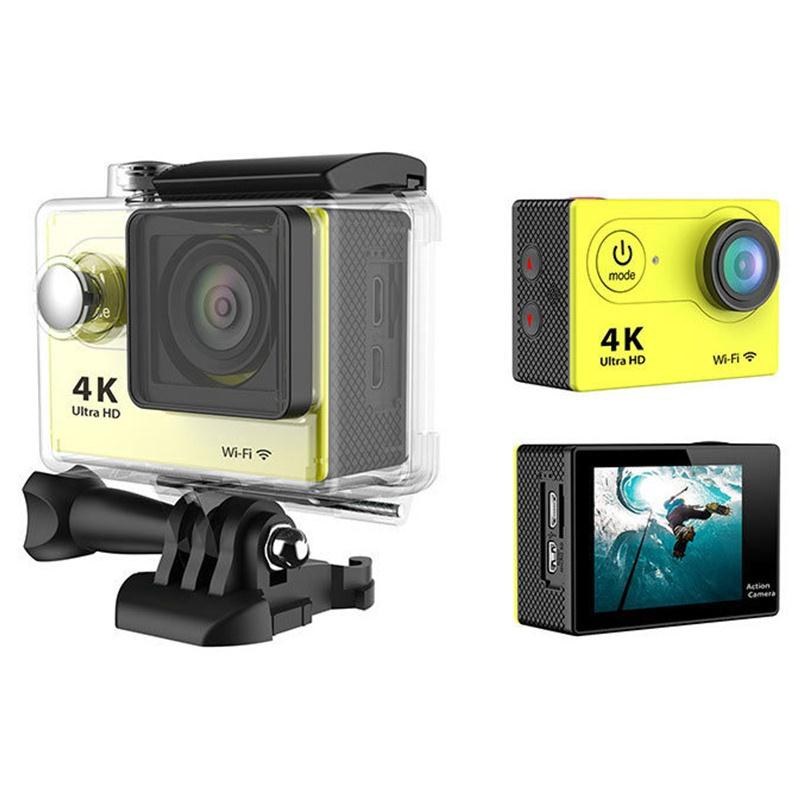 4K HD Sport Action WIFI Waterproof 2.0 Action Camera 12MP Helmet Bike Cam DV Wirless Sport Camcorder Video DVR h9 ultra hd 4k wifi 2 0 inch bicycle snorkeling surfing helmet sport camera video camcorder waterproof 30 meters under water