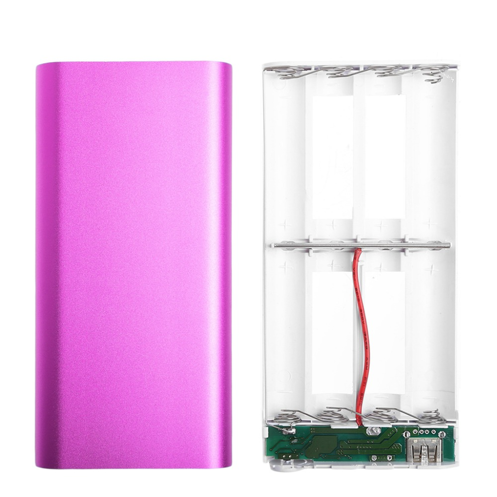 5V 2A USB 8X 18650 DIY Portable Battery Charger Holder Kit Power Bank Case Box стоимость