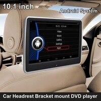 10,1 дюймов Android системы подголовник автомобиля кронштейн мультимедийный плеер USB SD Wi Fi функция (DVD вариант)