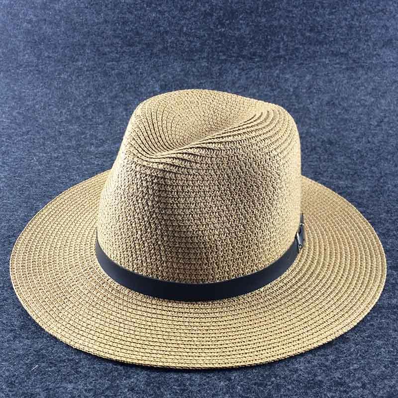 ecd6cf68e3d Fibonacci Wide Brim Sun Hat for Women Men Green Panama Floppy Jazz ...