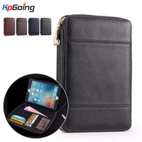 Zipper Wallet Tablet Case Cover For Ipad Air 2 Business Flip Case For Ipad Air 2