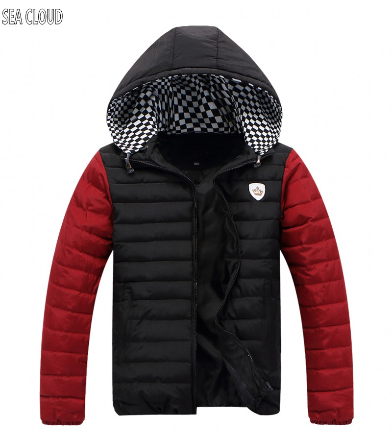 82 Free shipping plus size big mens clothing wadded jacket extra large thickening cotton-padded jacket fat winter jacket