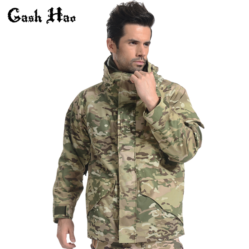 Gash Hao Men Winter Coat Military Jacket Windbreaker
