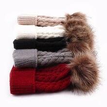 Милые зимние вязаные шерстяные шапки для новорожденных детей, теплая шапка красного, черного, серого, белого цвета и цвета хаки, вязаная шерстяная вязаная шапка для мальчиков и девочек 0-36 месяцев